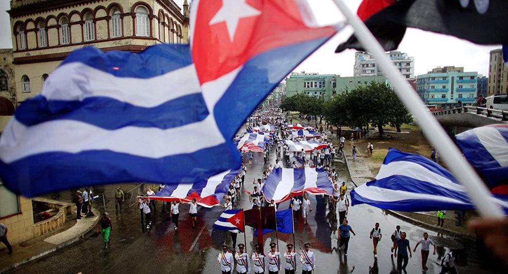 Las banderas cubanas