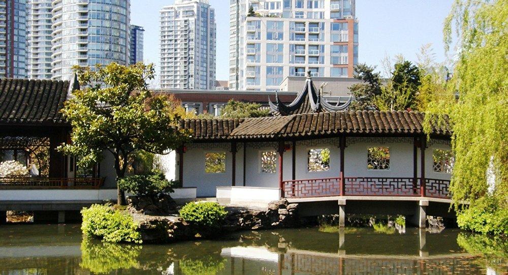 Un jardín chino (imagen referencial)