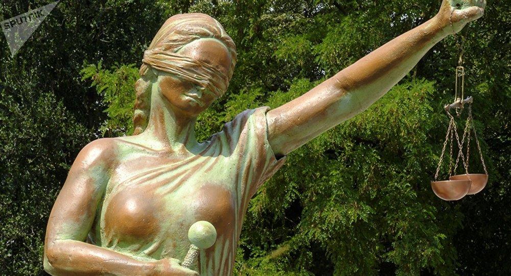 La estatua de la Justicia (imagen referencial)