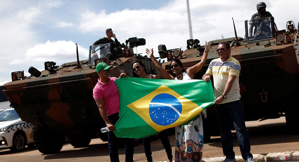 Brasilia se prepara para la investidura de Bolsonaro