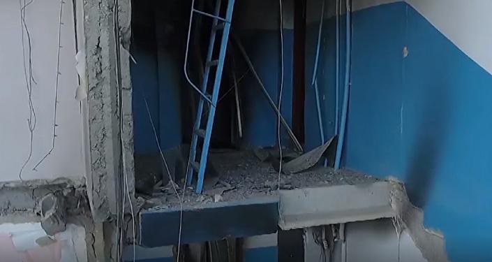 Esto es lo que se queda del edificio derrumbado en Magnitogorsk