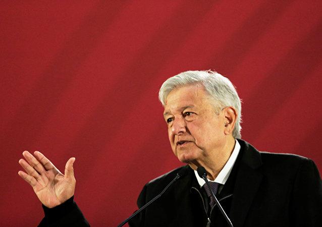El presidente de México, Andrés Manuel López Obrador (archivo)