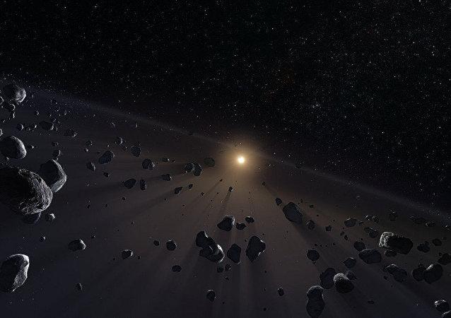 Objetos del cinturón de Kuiper