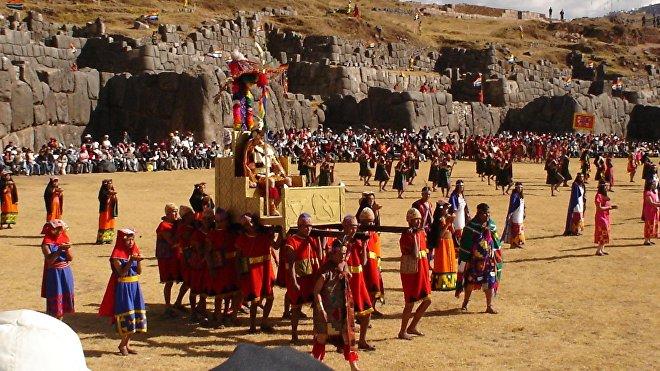 La fiesta de Inti Raymi, o año nuevo incaico, se celebra el 24 de junio, durante el solsticio de invierno en el hemisferio sur
