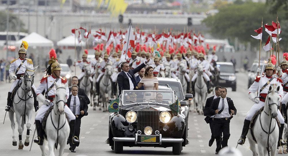 La investidura de Bolsonaro como presidente de Brasil
