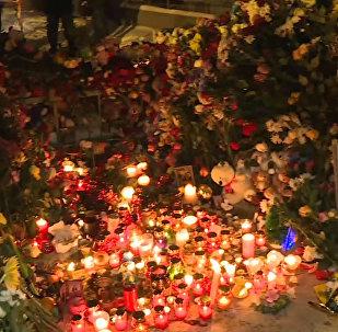 Familiares de las víctimas de Magnitogorsk lloran su pérdida