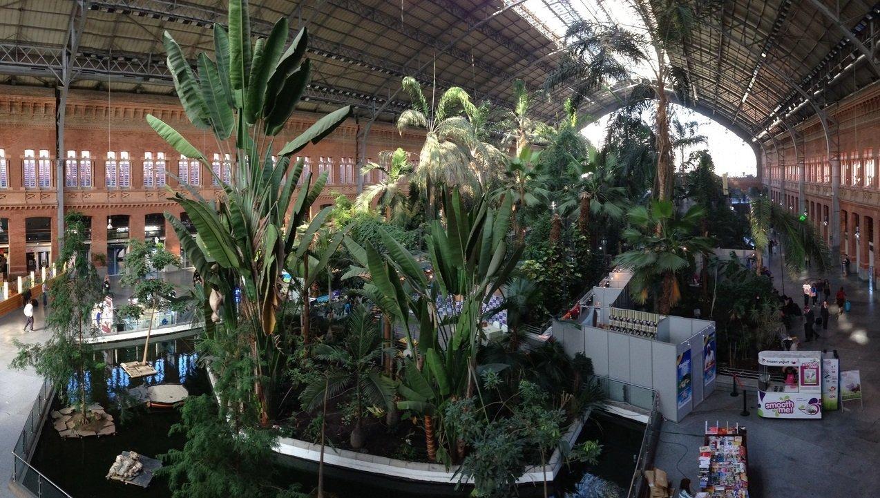La estación Atocha