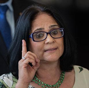 Damares Alves, ministra de Mujer, Familia y Derechos Humanos de Brasil
