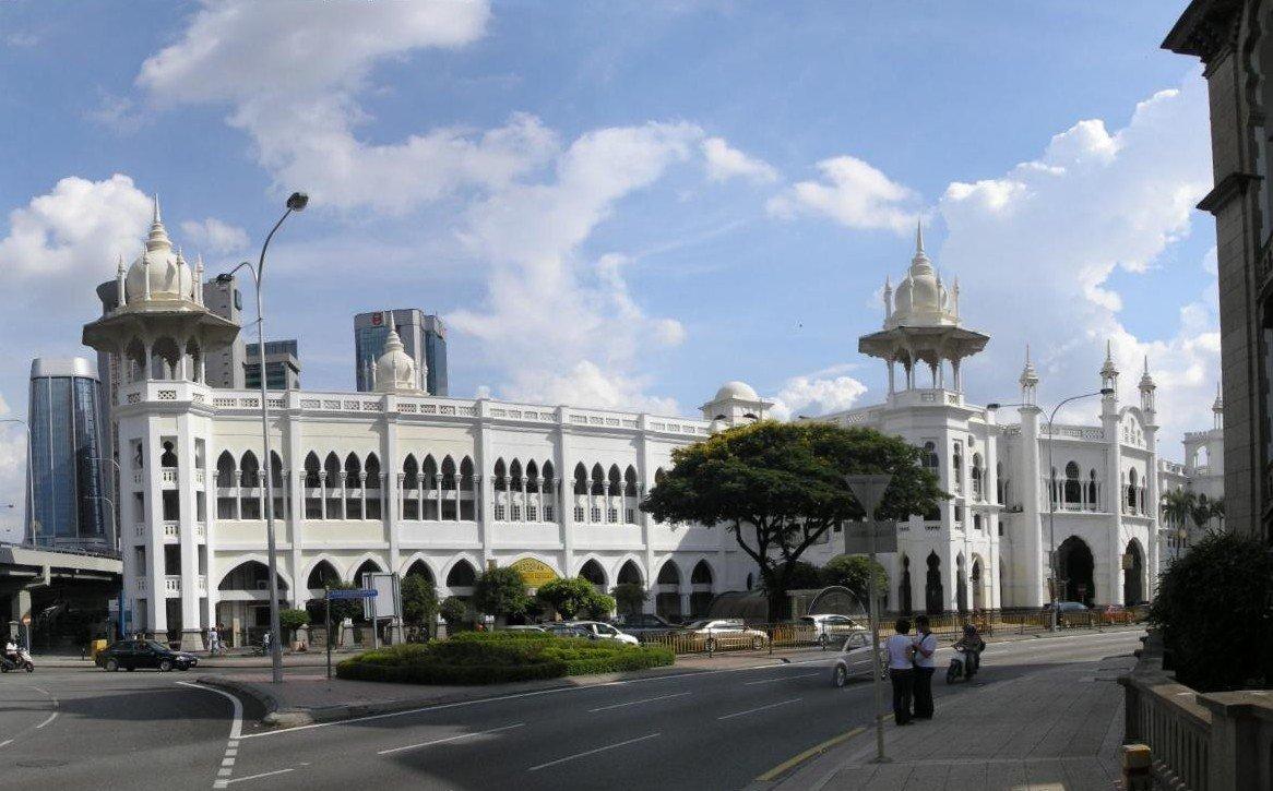 La antigua estación de Kuala Lumpur