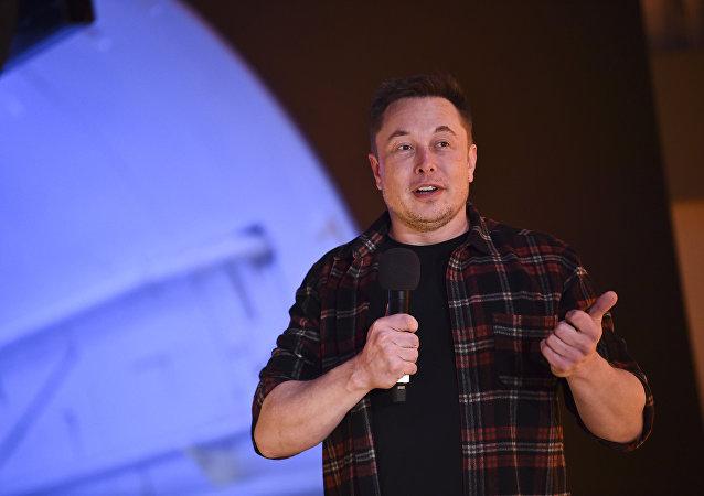 Elon Musk, jefe de SpaceX