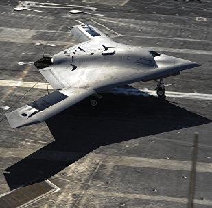 Un dron chino (archivo)