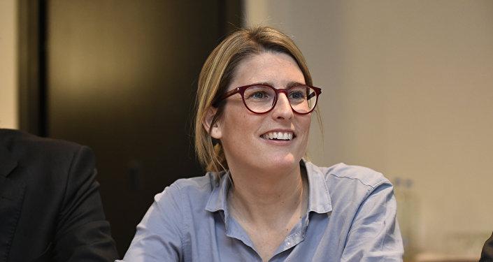 Elsa Artadi, portavoz del Gobierno catalán