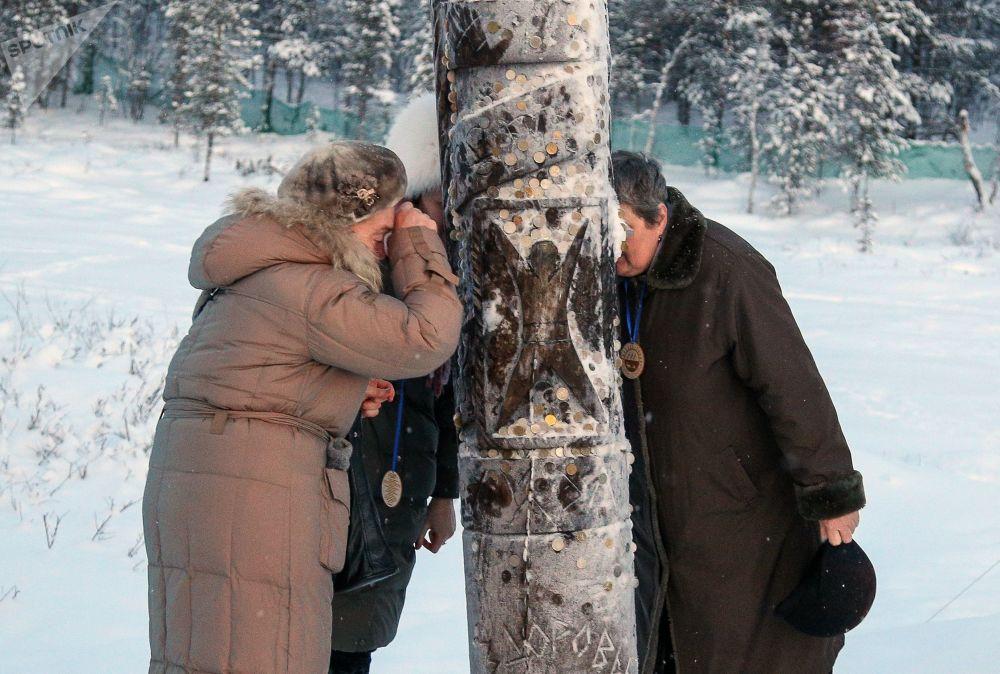Una aldea saami perdida en la región rusa de Múrmansk