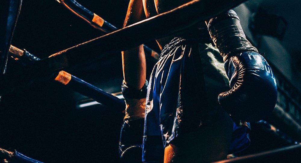 Un luchador de artes marciales mixtas, imagen referencial