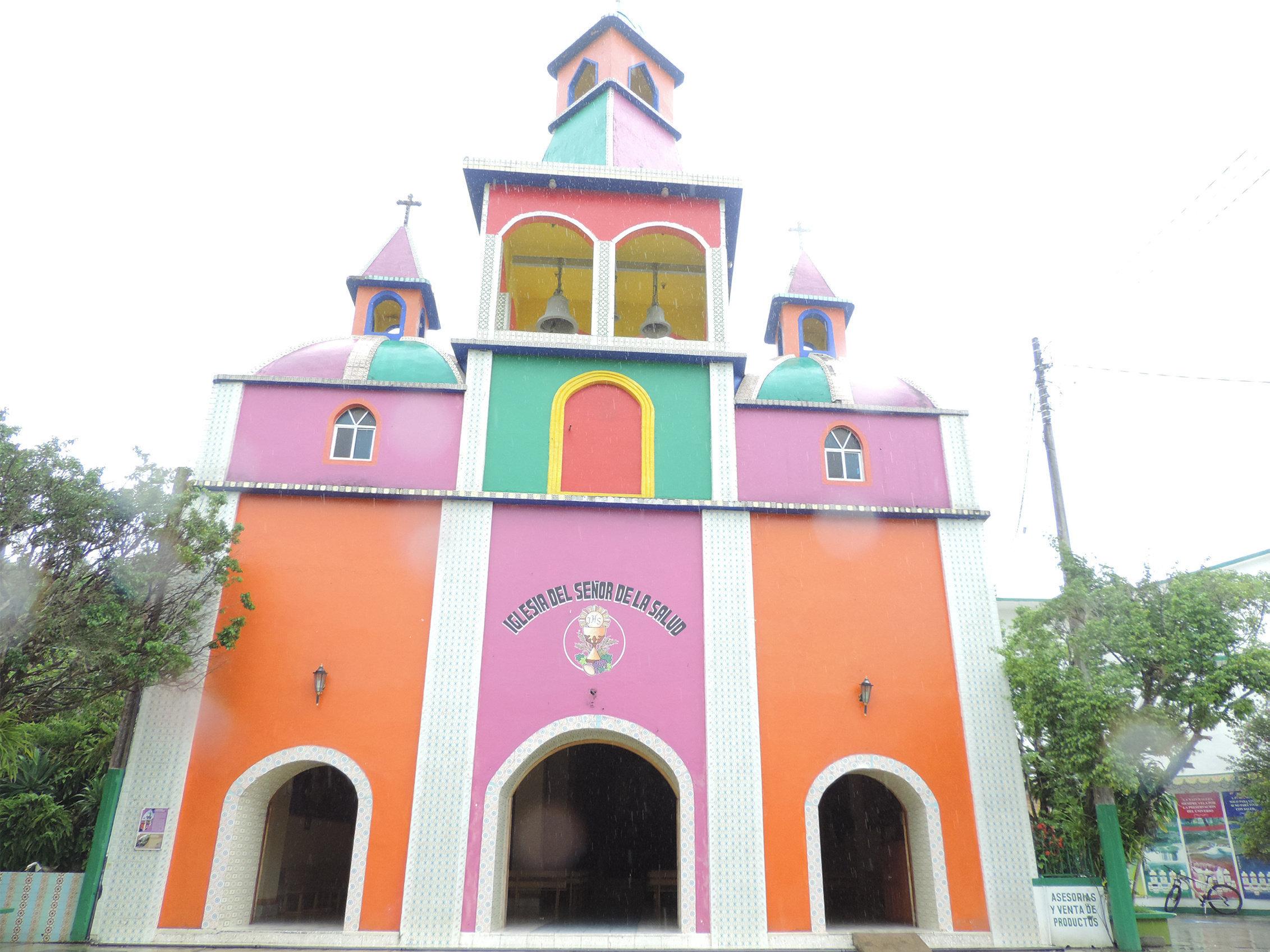 Iglesia del Señor de la Salud del Catillo de la Salud Beto Ramón en México