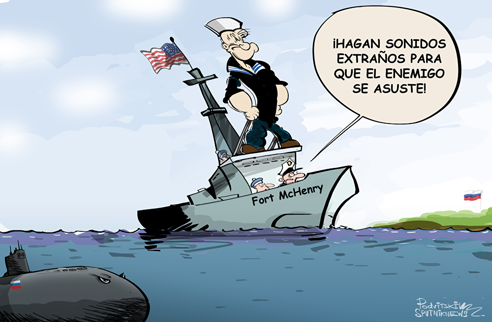 EEUU 'se pone gallito' frente a Rusia con su buque militar en el mar Negro