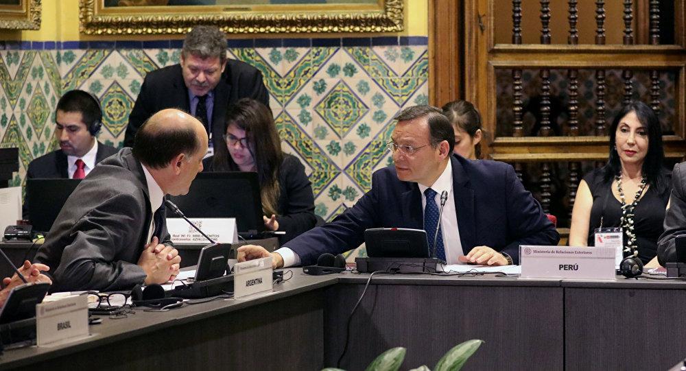 Venezuela amenaza con crudas medidas a los países del Grupo de Lima