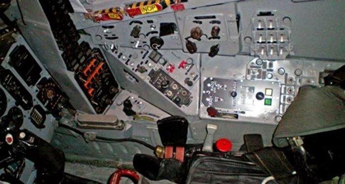 La cabina del MiG-29UB que está a la venta