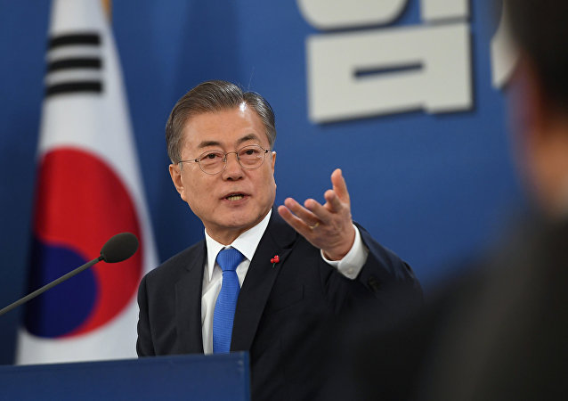 Moon Jae-in, el presidente de Corea del Sur