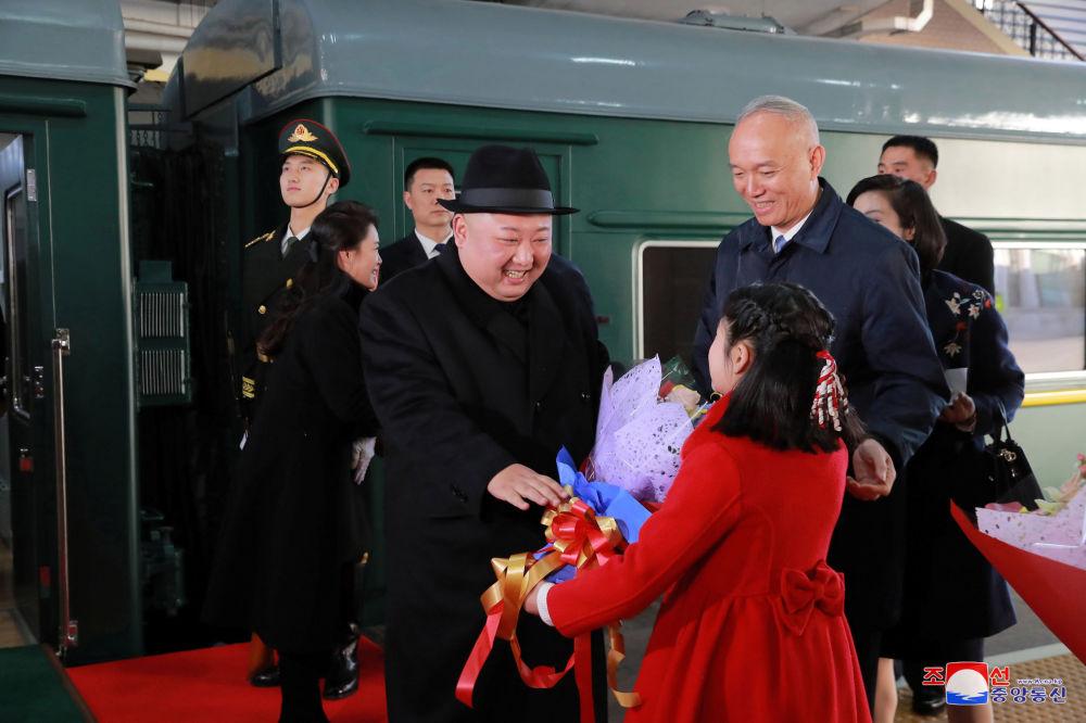 La visita 'secreta' de Kim Jong-un a Pekín, en imágenes