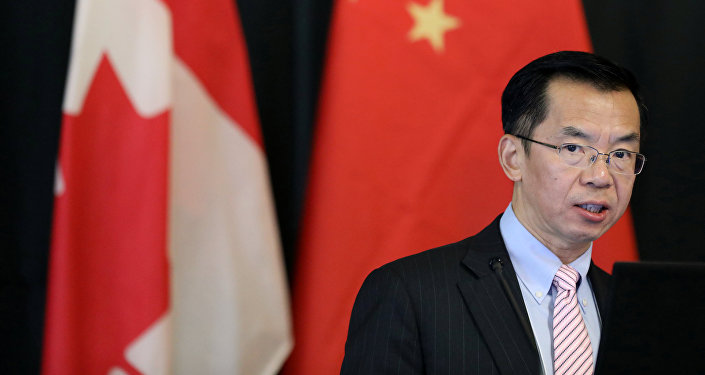 Lu Shaye, el embajador de China en Canadá