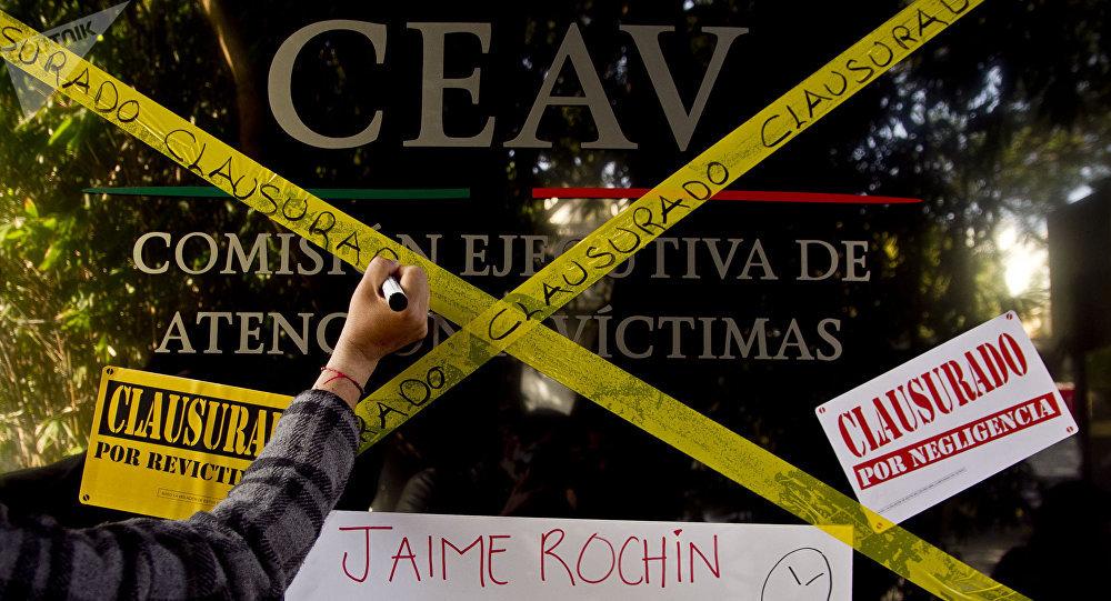 Víctimas de delitos graves se manifiestan ante la inconformidad con el trabajo de la Comisión Ejecutiva de Atención a Víctimas