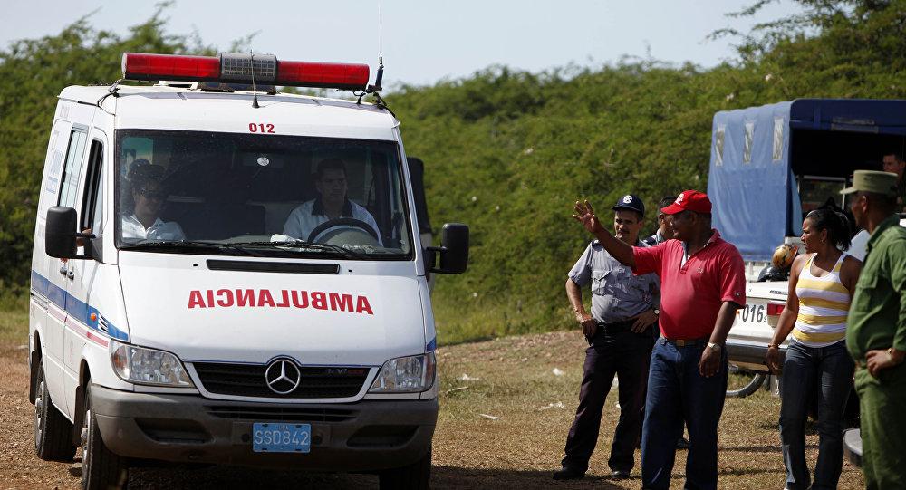 Ambulancia cubana