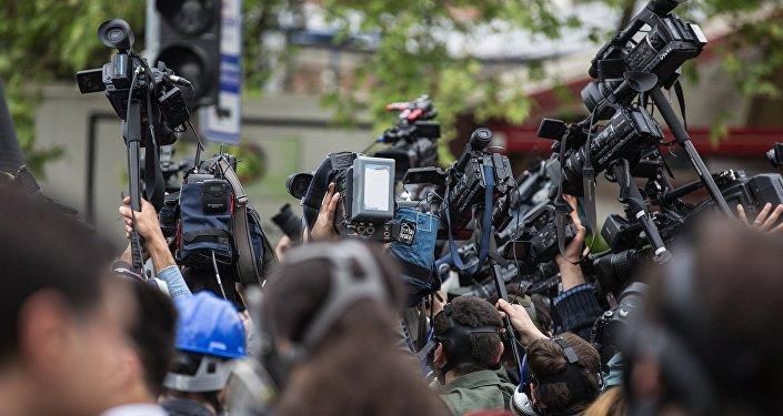 Periodistas (imagen referencial)