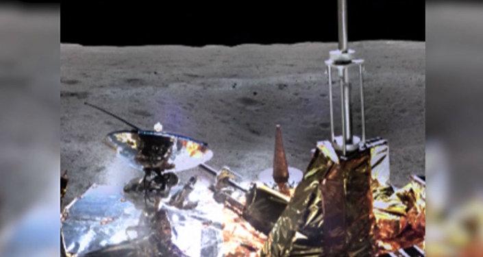 La sonda espacial china envía imágenes inéditas desde la superficie de la Luna