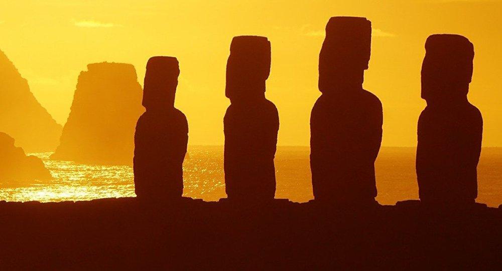 Estatuas de la isla de Pascua