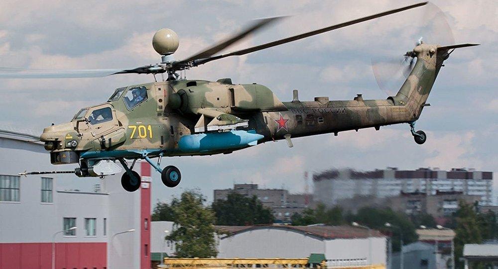 Helicóptero de ataque ruso Mi-28NM