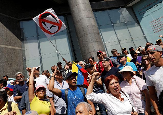 Protestas en Venezuela contra Nicolás Maduro