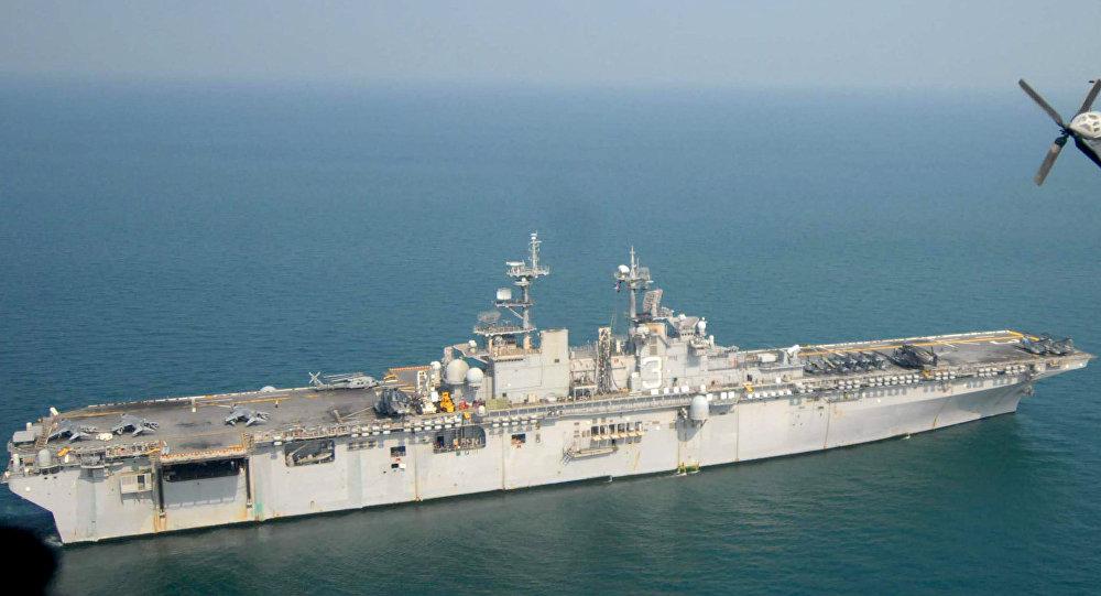 USS Kearsarge, buque de asalto anfibio de la Armada de EEUU (archivo)