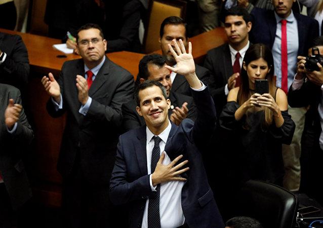 El opositor venezolano Juan Guaidó