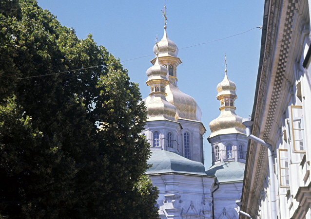 La iglesia del Salvador de Berestovo, en Kiev