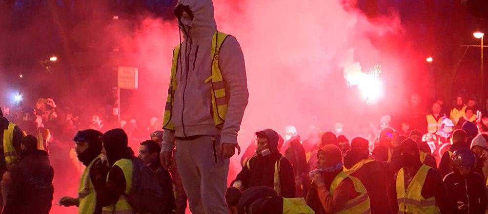 La novena semana consecutiva de protestas de los 'chalecos amarillos' en Francia