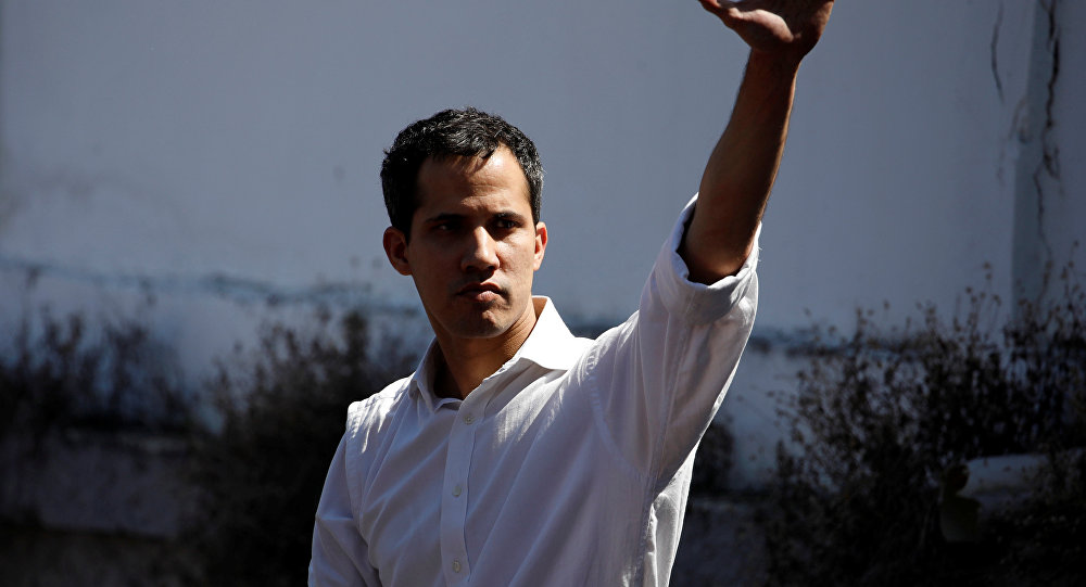 Juan Guaidó, presidente de la Asamblea Nacional de Venezuela