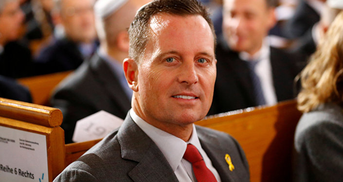 El embajador de Estados Unidos en Alemania, Richard Grenell