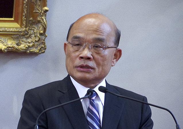 Su Tseng-chang, el nuevo primer ministro de Taiwán