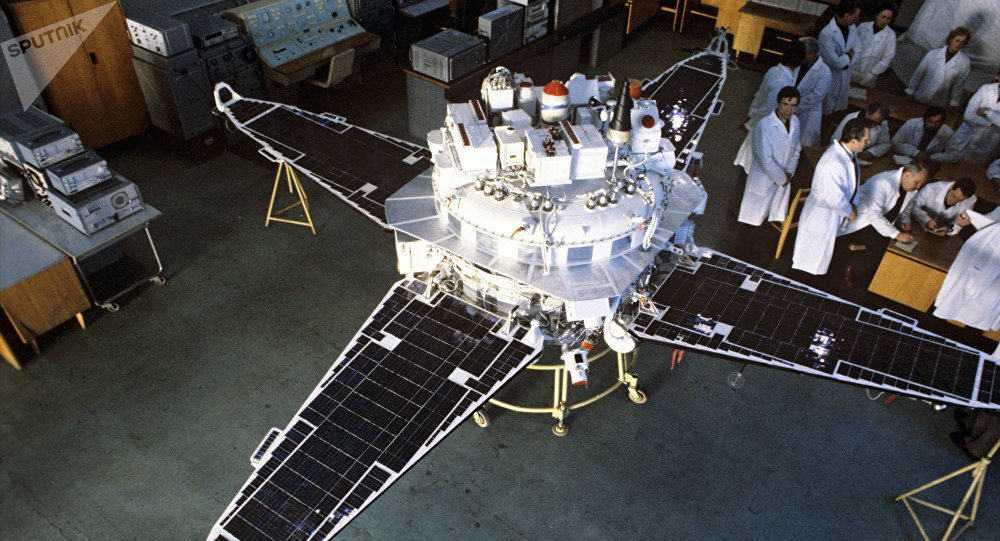 El satélite de investigación soviético Prognoz
