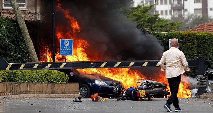 Las explosiones y disparos en el complejo hotelero Dusit, en Nairobi, Kenia