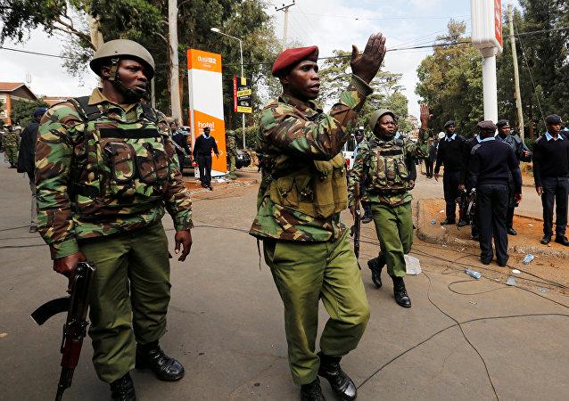 Policía de Kenia