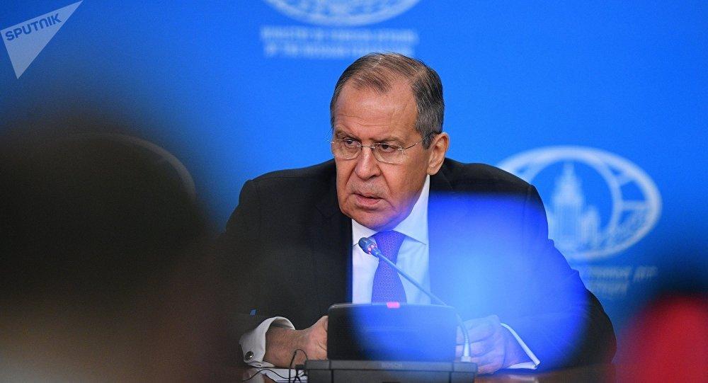 Serguéi Lavrov, el ministro de Exteriores ruso