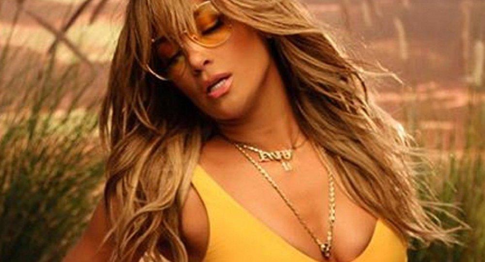 Jennifer Lopez, cantante y actriz estadounidense de origen puertorriqueño