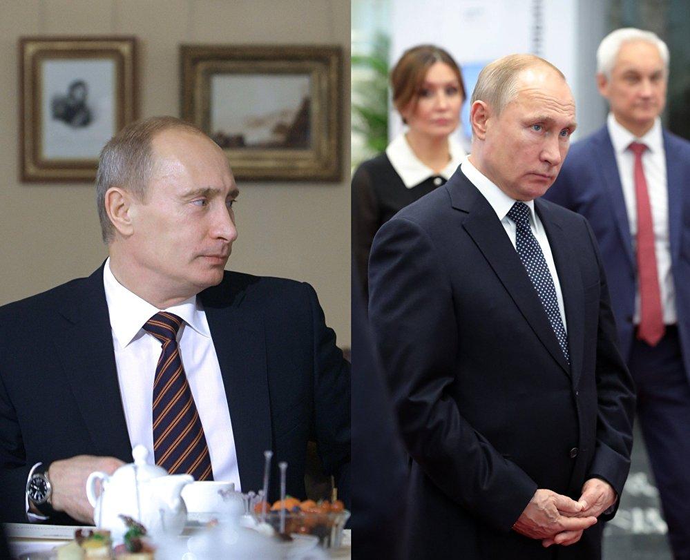 El actual presidente de Rusia, Vladímir Putin, en octubre del 2009 / enero del 2019