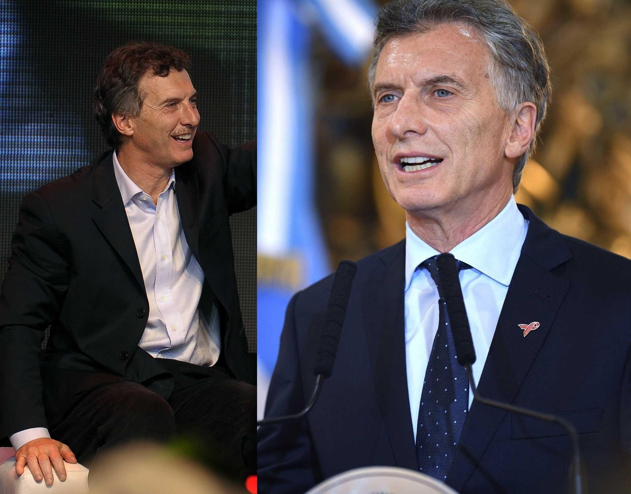 El actual presidente de Argentina, Mauricio Macri, en el 2009 / 2018
