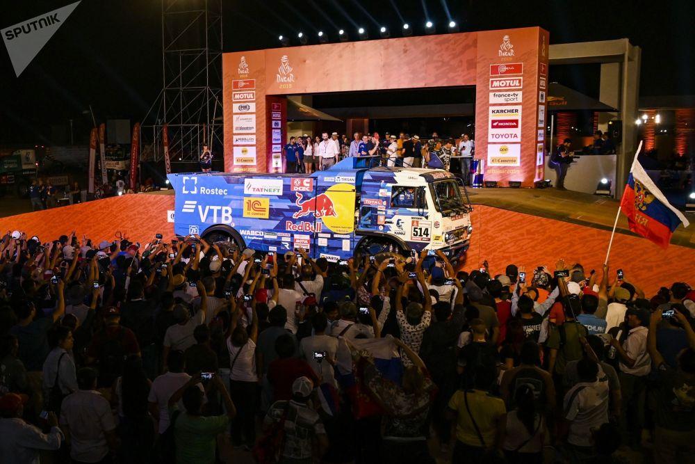 El Rally Dakar llega a Perú