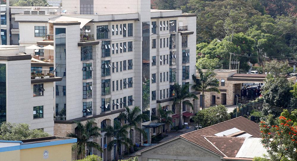 Hotel donde produjo el atentado en Nairobi, Kenia