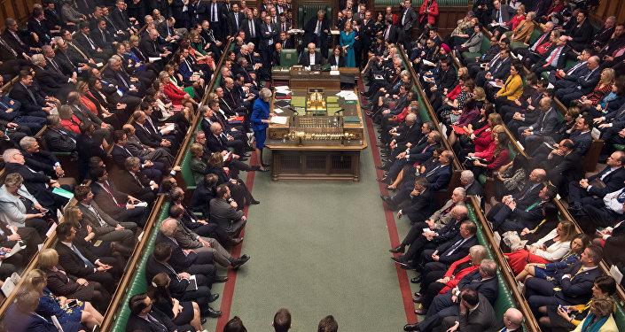 El parlamento del Reino Unido