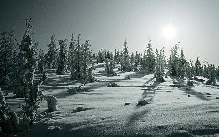 El invierno en la República de Sajá